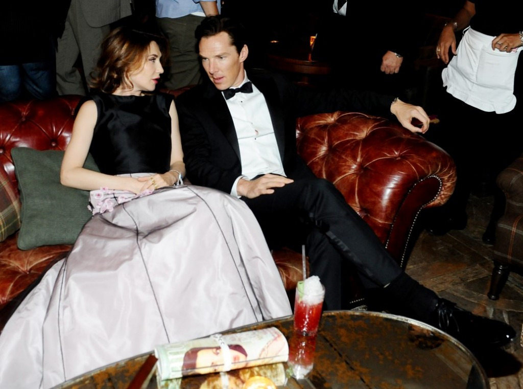 Carice van Houten and Benedict Cumberbatch