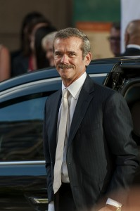 Chris Hadfield at Gravity Premiere. Photo Credit: Flickr/pingfoo