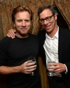 Ewan McGregor and Richard Klubeck