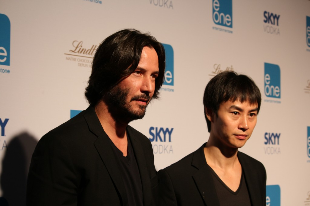 Keanu Reeves and Tiger Chen