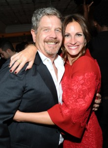 John Wells and Julia Roberts