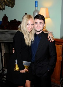 Juno Temple and Daniel Radcliffe, for Horns.