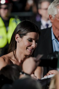 Sandra Bullock at Gravity Premiere. Photo Credit: Flickr/pingfoo