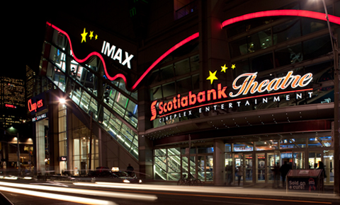 Recently, TIFF started using every single cinema at Scotiabank Theatre for festival - which shows the most screenings, day and night.