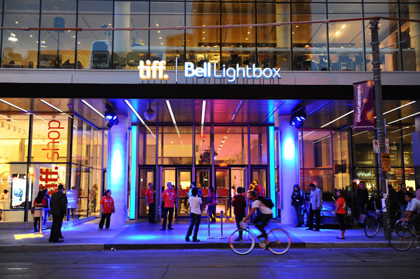 Festival Central - The TIFF BELL Lightbox.