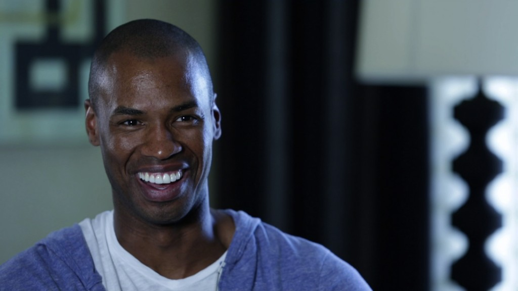 Jason Collins, the first openly gay, active NBA player in sports history